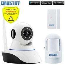Wireless door gap PIR Wifi 720P IP Camera For Home Security Alarm System Wifi W2B G90B Alarm System Camera Surveillance Device