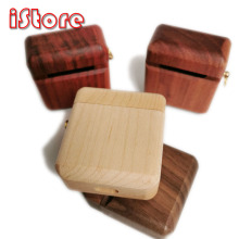 For Airpods 1&2 Cover Apple Wireless Bluetooth Headset Charging Cover Protective Cover Wood materials Pack