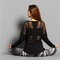 Women Yoga Top Women Yoga Shirts Long Sleeve Gym Shirts Fitness Clothing Shirt Female Sports Tops