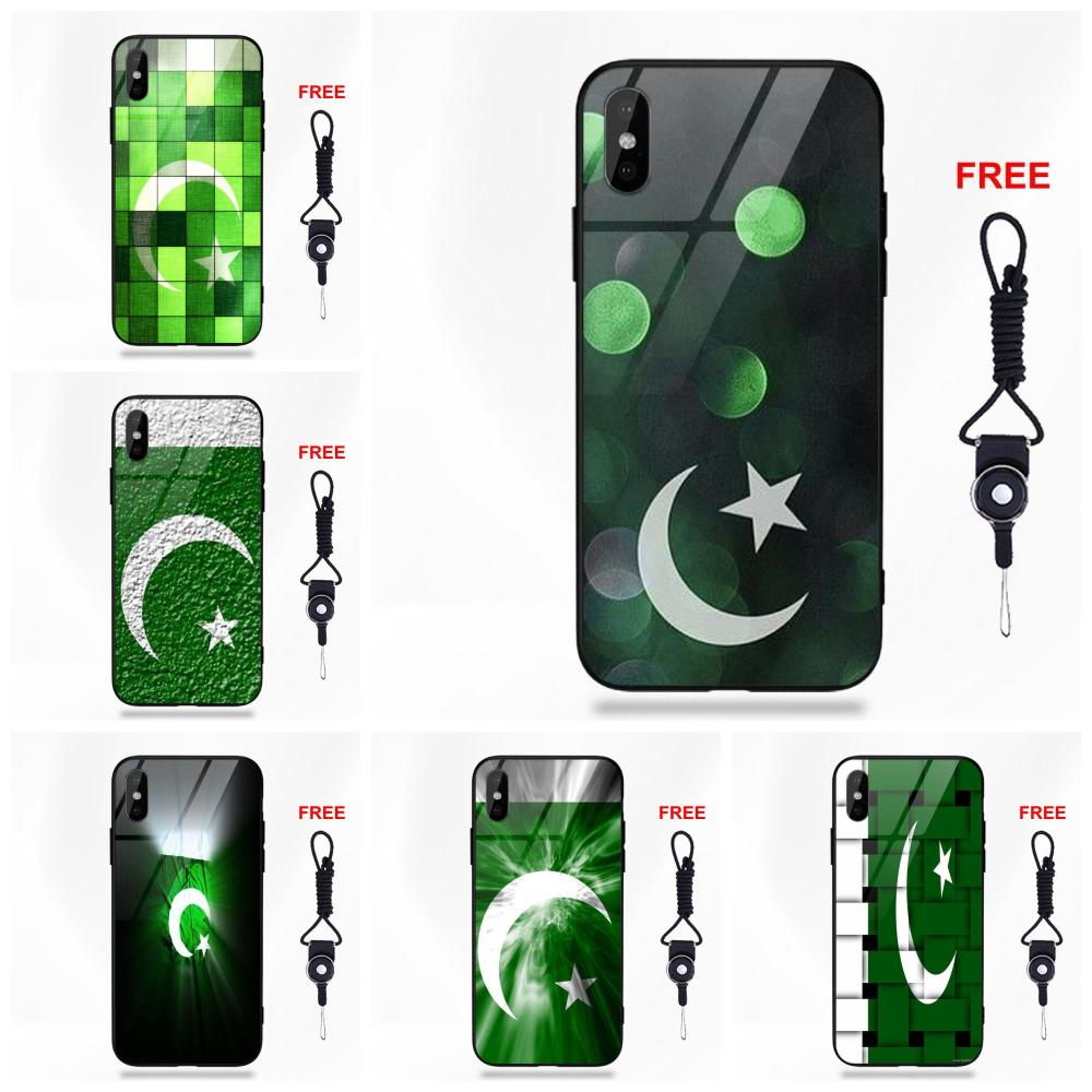 Retail Printed Pakistan Flag For Apple iPhone X XS Max XR 5 5C 5S SE 6 6S 7 8 Plus Soft TPU