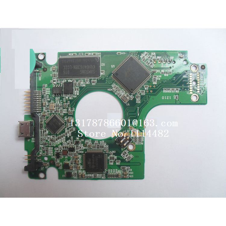HDD PCB Logic Board 2060-701675-001 REV P1 For WD 2.5 USB Hard Drive For For WD5000BMVV/KMVV WD6400BMVV/KMVV WD7500KMVV WD10TMVV