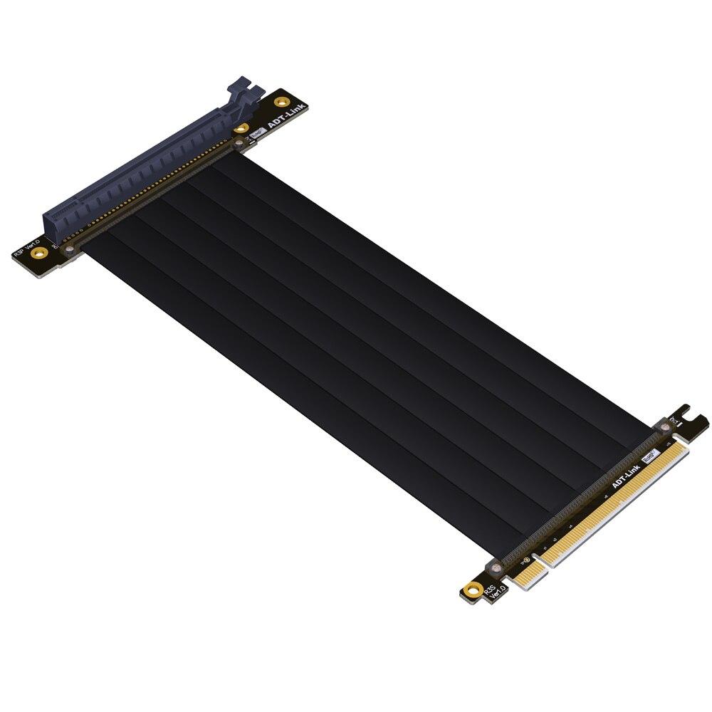 Gen3 PCIE x16 à x16 Riser pci e PCI-e 16x câble flexible pour PHANTEK ENTHOO Evolv Shift PH-ES217E/XE PK-217E/XE ITX carte mère