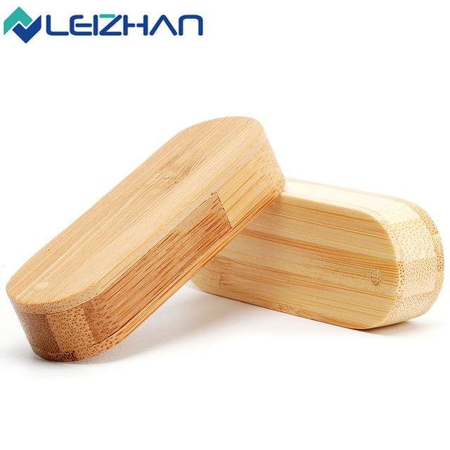 Rotational customized wood USB flash drive