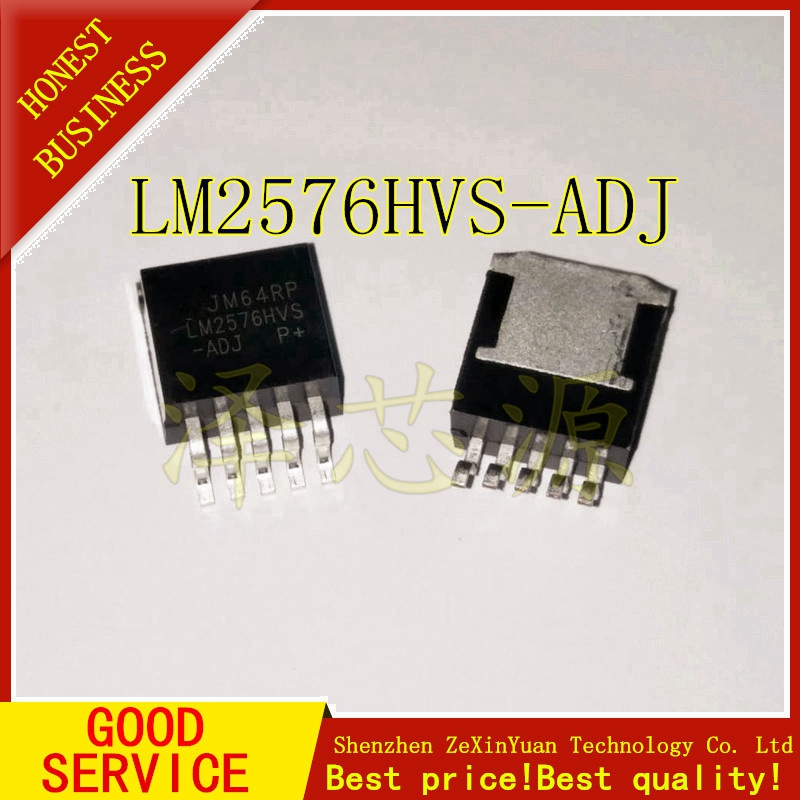 30PCS/LOT LM2576HVS-ADJ LM2576HVS LM2576-ADJ TO263 3A ADJUSTABLE SWITCHING REGULATOR