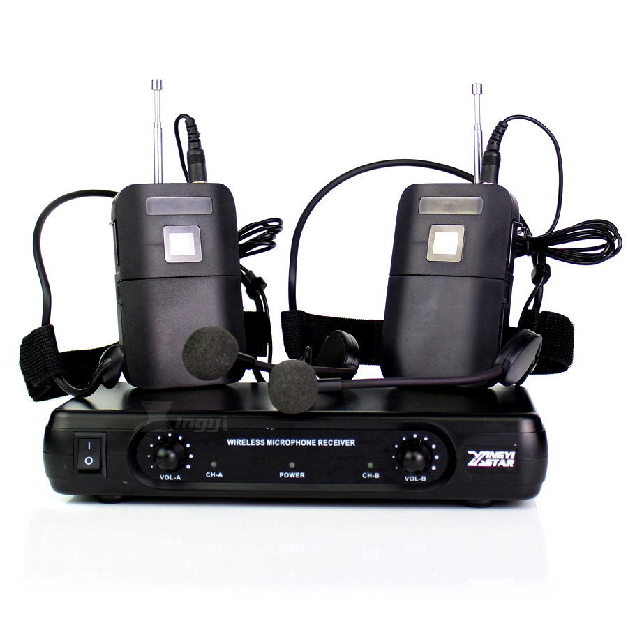ME3 Headworn Wireless Microphone Headset Mic Head-Mounted Karaoke Mike Dual Channel Cordless Receiver BLX1 Bodypack Transmitter invisible dual earhook headworn wireless microphone headset mic karaoke mike double channels cordless receiver blx1 transmitter
