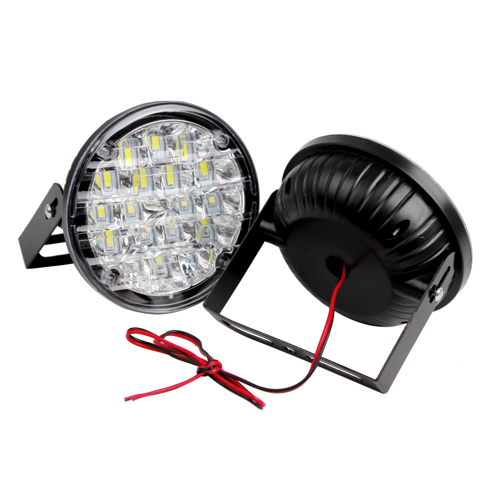 ITimo 1 Pair Car Fog Lamp DRL 12v Auto Lamps 18w Car Lights 18 LEDs LED Car Daytime Running Light Car Accessories High Quality 2pcs dc 12v led daytime running lights high quality car drl driving light 5 leds car styling auto fog lamp front right left