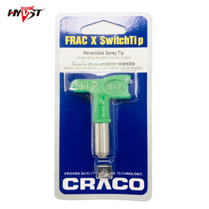 Image 1 - Hyvst Airless Tips FRAC110/214/314/414/518/108/210/310/212/312 tip nozzle Low Pressure Tip for Airless Paint Spray Guns