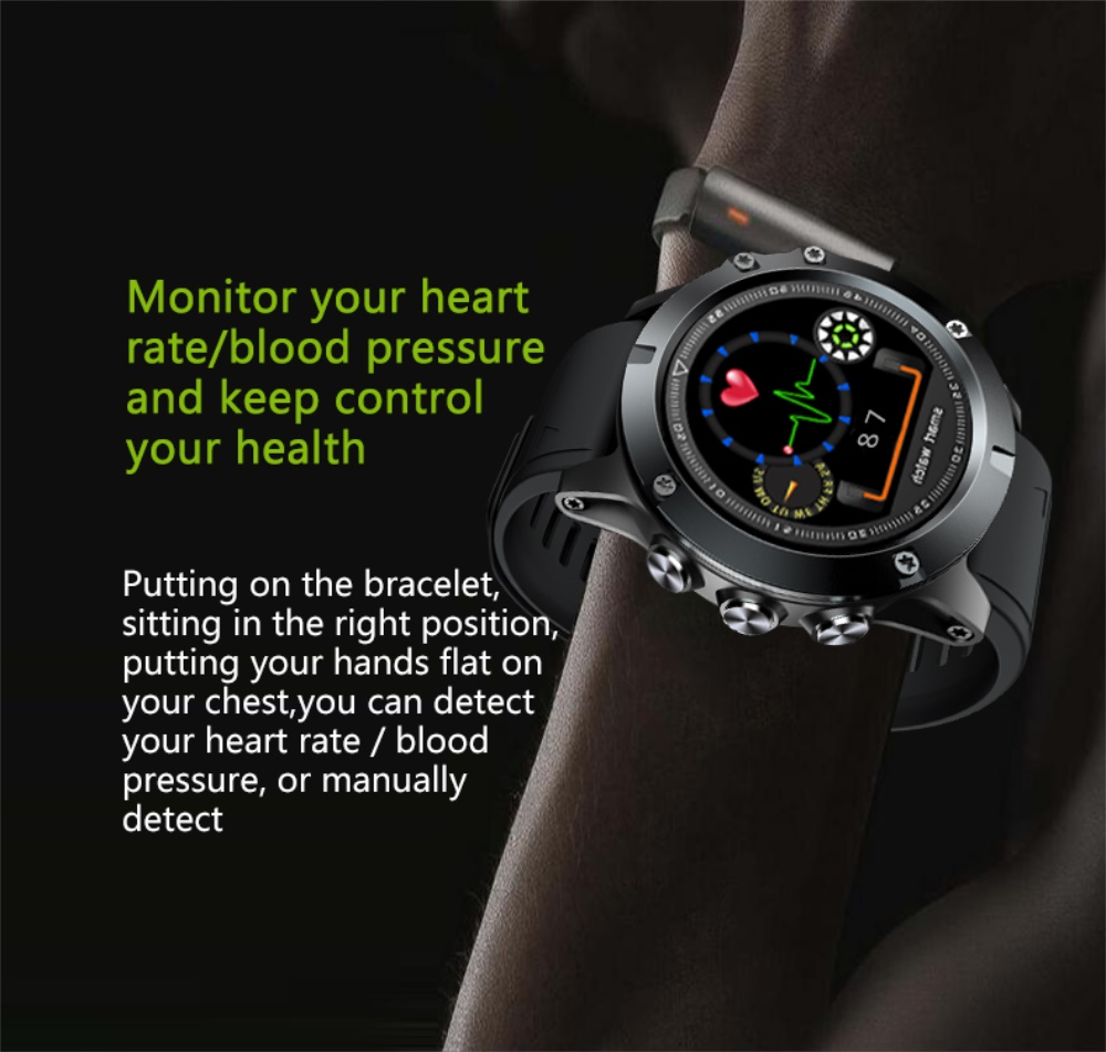 696 L11 Men Smart Bracelet Heart Rate Blood Pressure Fitness Tracker IP68 Waterproof Smart Watch for Android IOS smart phone 5