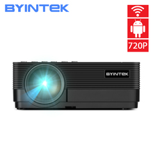 цена на BYINTEK K7 Android Smart Wifi LED Mini Portable Video HD Projector For Iphone Ipad Smartphone Tablet Game 1080P Home Theater