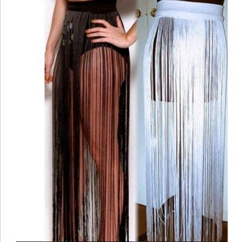 Long Tassel Skirt