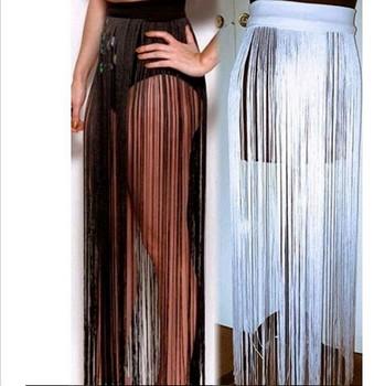 Long Tassel Skirt
