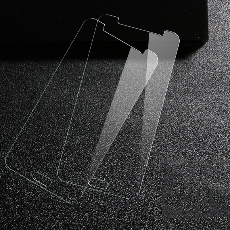 Clear Tempered Glass Front Screen Protector Phone Case For Samsung Galaxy 5