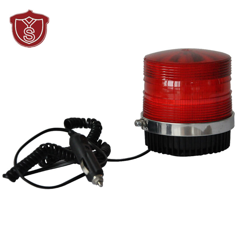 LTD-5111 DC12V Car Magnetic Mounted Vehicle Police Warning Light Police LED Flashing Beacon/Strobe Emergency Lighting Lamp ltd 5111 dc12v flash car strobe warning light fireman emergency strobe light vehicle light with magnet bottom