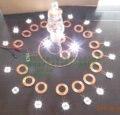 300mm of high power wireless power supply module receives wireless charging module of wireless transmission module