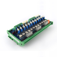 12-channel PLC AC amplifier board output board Original thyristor Optocoupler board 24V relay board
