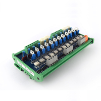 12 channel PLC AC amplifier board output board Original thyristor Optocoupler board 24V relay board