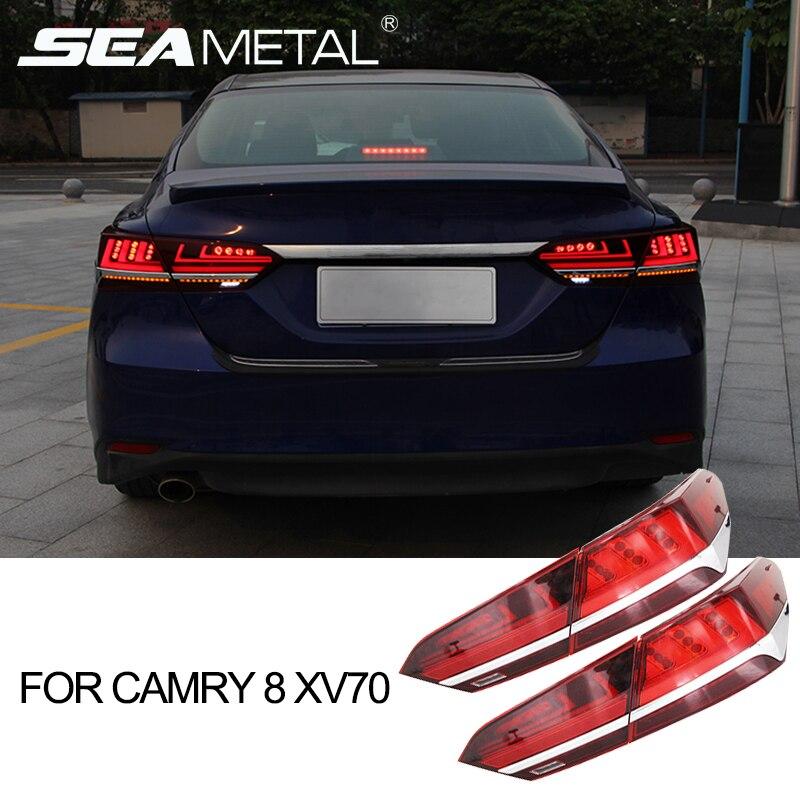 Car Lights Assembly For Toyota Camry 8 Xv70 2018 2019 12v Led Tail