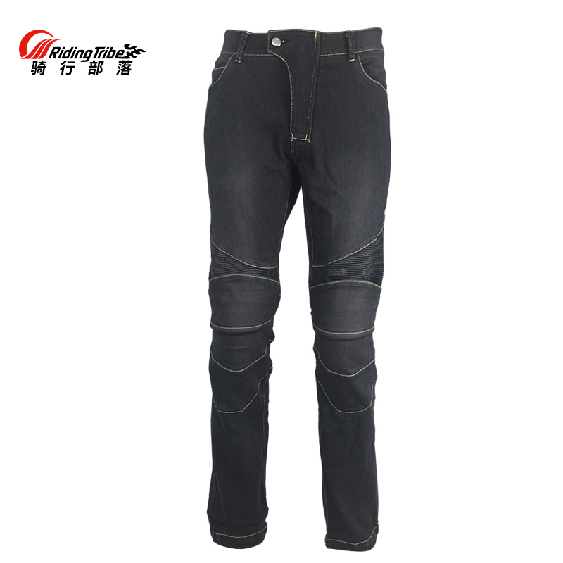 Riding Tribe Motorcycle Men s Biker Jeans Protective Gear Motocross Motorbike Racing Breathable Pants Straight Trousers