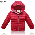New 2015 Children Down Jackets White Duck Down Casual Boy Girls Winter Coats Warm Snow Wear Kids Overcoats Down Jacket For Girl