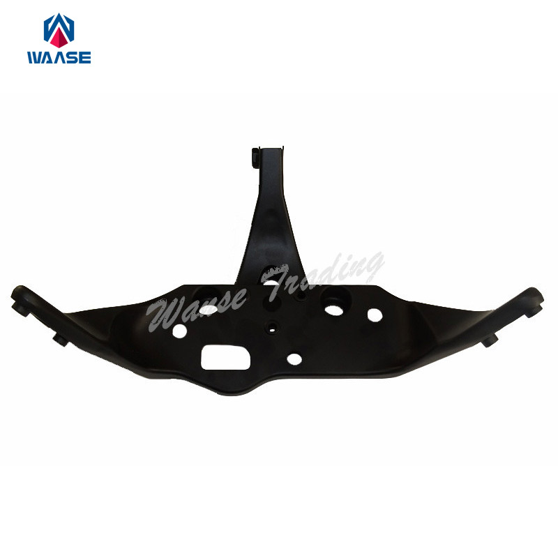 waase Front Nose Fairing Cowling Headlight Headlamp Stay Bracket For 2001 2002 2003 2004 2005 2006 2007 HONDA CBR600F4i PC35 front upper fairing cowling headlight headlamp stay bracket for honda cbr600f4i cbr 600 f4i 2001 2002 2003 2004 2005 2006 2007