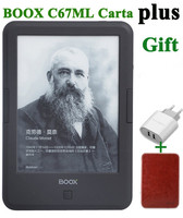 New ONYX BOOX C67ml carta+ ebook reader 6 8G wifi eink touch screen 3000mAh pocket books gift cover