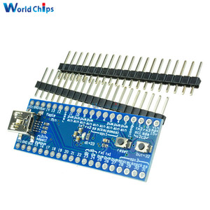Мини USB STM32F103CBT6, кленовый Мини 32 ARM, 3,3 В, 72 МГц, 128 Кб, модуль флэш-платы для Arduino с SPI/I2C USART 34 контакта