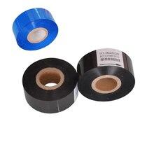 Black Width 35mm length 100m hot foil printer ribbon for packing bags