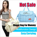 Free Shipping 2017 NEW Waterproof Diaper Mami Bag Stylish Mommy Baby Bag Cheap Stylish Diaper Bag