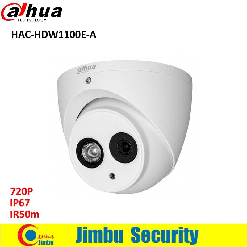 DAHUA 1MP HDCVI DOME Camera HAC-HDW1100E-A 1/2.9 CMOS 720P IR 50M IP66 CCTV camera built in mic PAL dahua outdoor indoor hdcvi camera dh hac hdw1100e 1mp hd network ir security cctv dome camera ir distance 40m hac hdw1100e ip67