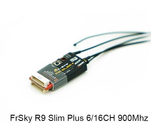 FrSky R9 Slim + Plus 6/16CH 900 Mhz télémétrie longue portée Mini récepteur FCC Version Non ue