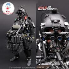 1/6 US NAVY Seal Halo UDT จัมเปอร์ชุด Action ตัวเลขพลร่มกบ 12 นิ้วทหาร Body Figurine ทั้งชุดตุ๊กตา