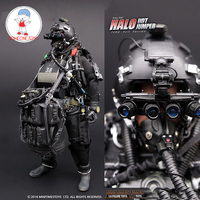 1/6 US NAVY Seal Halo UDT Jumper Suit Action Figures Paratroopers Frog 12 Inches Soldier Body Figurine Whole Set Model Doll