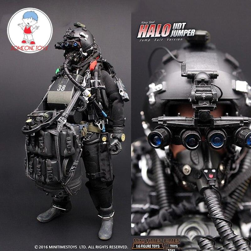 1/6 미국 해군 인감 헤일로 udt 점퍼 슈트 액션 피규어 paratroopers 개구리 12 인치 군인 바디 입상 전체 세트 모델 인형-에서액션 & 장난감 숫자부터 완구 & 취미 의  그룹 1