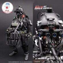 1/6 미국 해군 인감 헤일로 udt 점퍼 슈트 액션 피규어 paratroopers 개구리 12 인치 군인 바디 입상 전체 세트 모델 인형