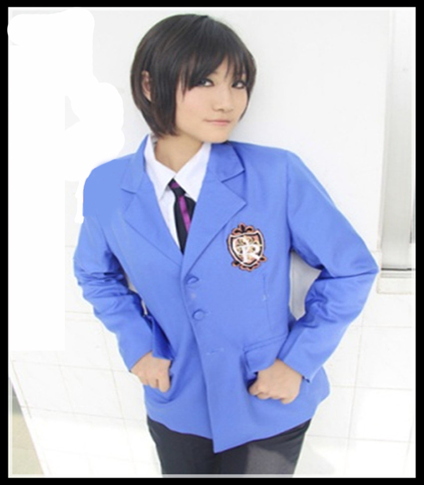 Ouran High School Host Club Tamaki Suoh Haruhi Fujioka Cosplay Costume