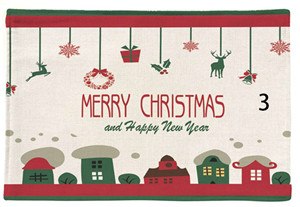 Table Napkins Home & Garden Aggressive Christmas Two-layers Thicken Cotton And Linen Table Napkin Dish Cloth Cartoon Tree Printing Kitchen Towel Tea And Coffee Pad Pure Whiteness