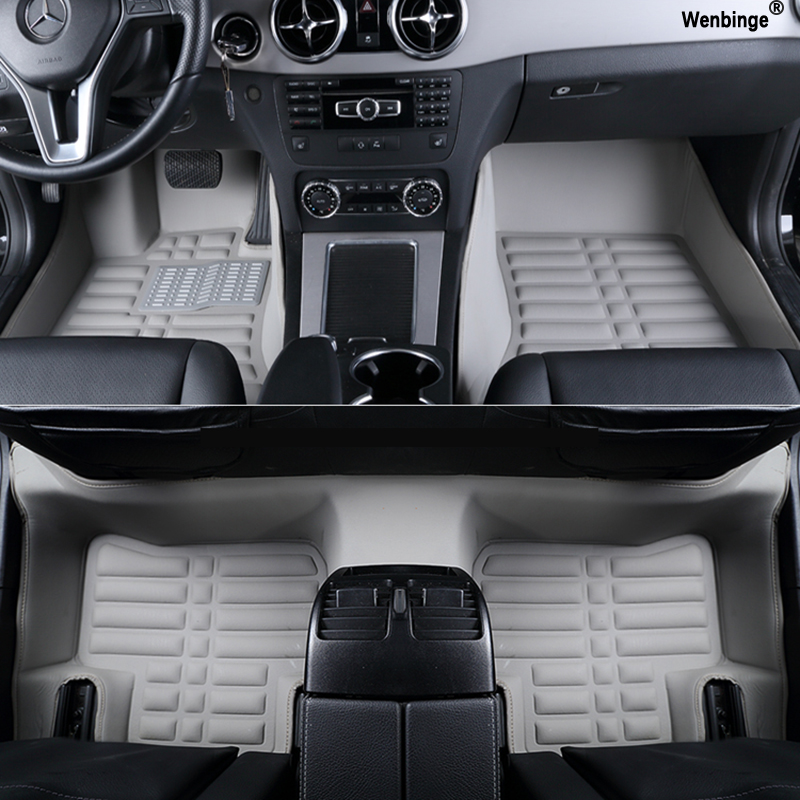 Custom car floor mats for Infiniti All Models EX25 FX35 M25 M35 M37 M56 QX50 QX60 QX70 G25 JX35 car accessorie styling floor mat special car trunk mats for toyota all models corolla camry rav4 auris prius yalis avensis 2014 accessories car styling auto