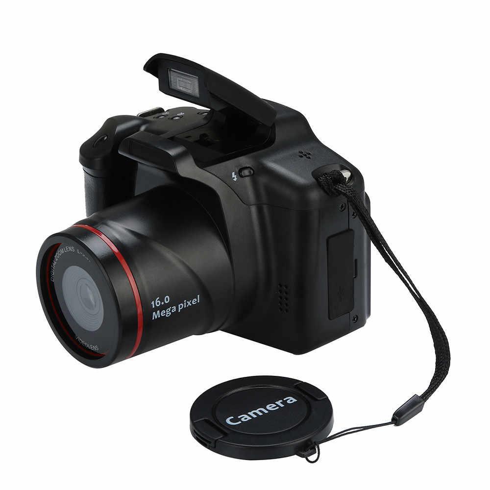 כף יד וידאו מצלמת וידאו HD 1080P מצלמה דיגיטלית 16X זום ראיית לילה למצלמות מצלמה Appareil תמונה Numerique Professionel