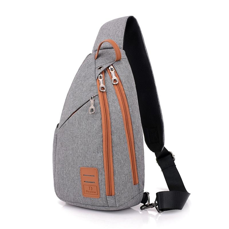 2018 New Men Chest Pack Large Capacity Sling Shoulder Bag Multifunction Crossbody Bag for Men Messengers Bag Travel Back Pack kaka large capacity chest bag for men