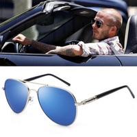 2017 Men's Polarized Sunglasses Classic Tomb Mirror Sunglasses Women's Square Boxes Inside Plated Drivers