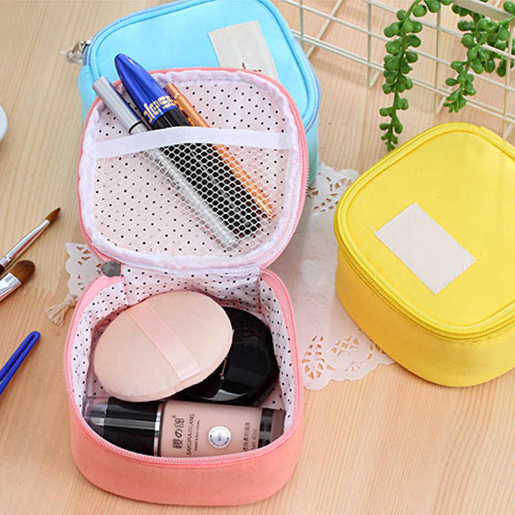 Fashion Waterproof Polyester Multifunction Makeup Storage Bag Travel Cosmetic Bags High Quality Toiletry Bag For Women