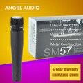 Бесплатная Доставка Premium Quality SM57 SM57LC Однонаправленный Динамический Вокальный Проводной Микрофон SM 57 57LC Майк С Ярко Sound