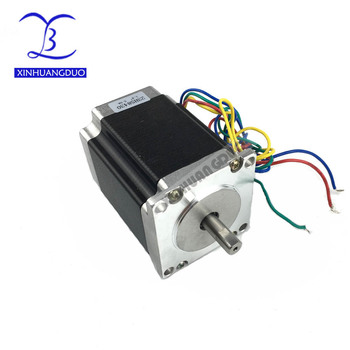 High torque 57 Stepper Motor 2 PHASE 4-lead Nema23 motor 23HS8430 76MM 3.0A 270 Oz-in LOW NOISE HIGH QUALITY motor for CNC XYZ image