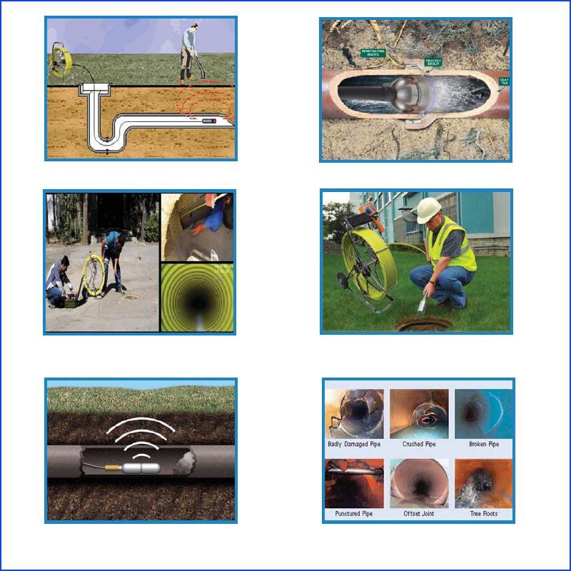 HTB1274nQFXXXXX0XpXXq6xXFXXXl - 9inch Pipe Sewer drain underground plumbing Inspection Camera auto self balancing 23mm camera head DVR self level