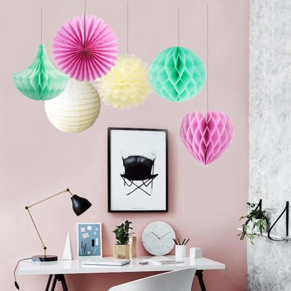 Home Decor Parties Companies: Aliexpress.com : Buy Paper Party Decorations Mint Theme