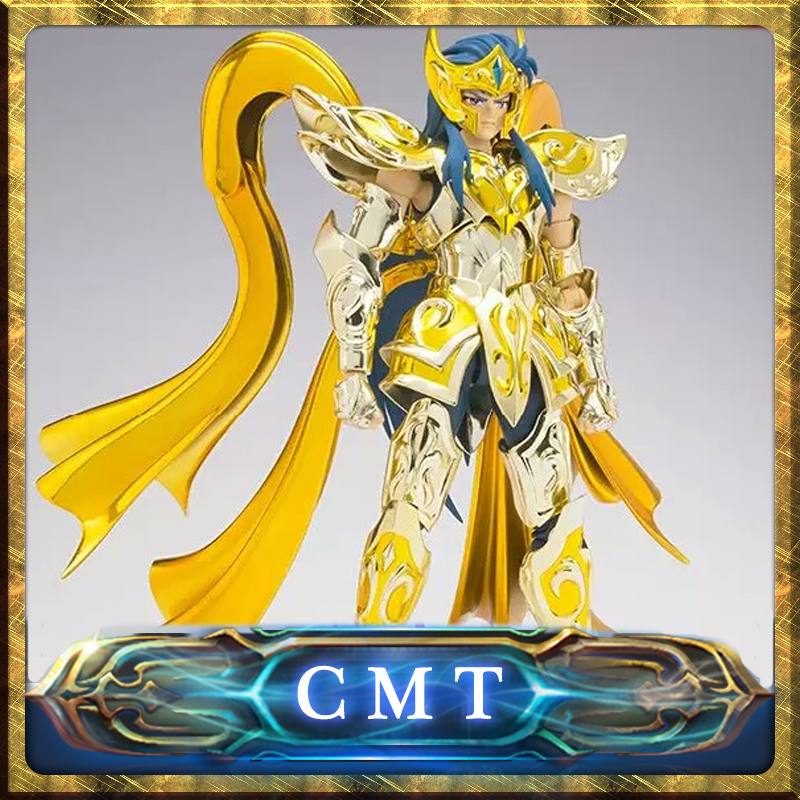 CMT In Stock Great Toys God Aquarius EX Aquarius Camus God Cloth SOG Metal Armor GT EX Saint Seiya Myth Cloth Action Figure saint seiya myth cloth camus metal