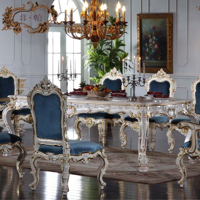 Italiano francese di mobili antichi all foglia argento classico ...