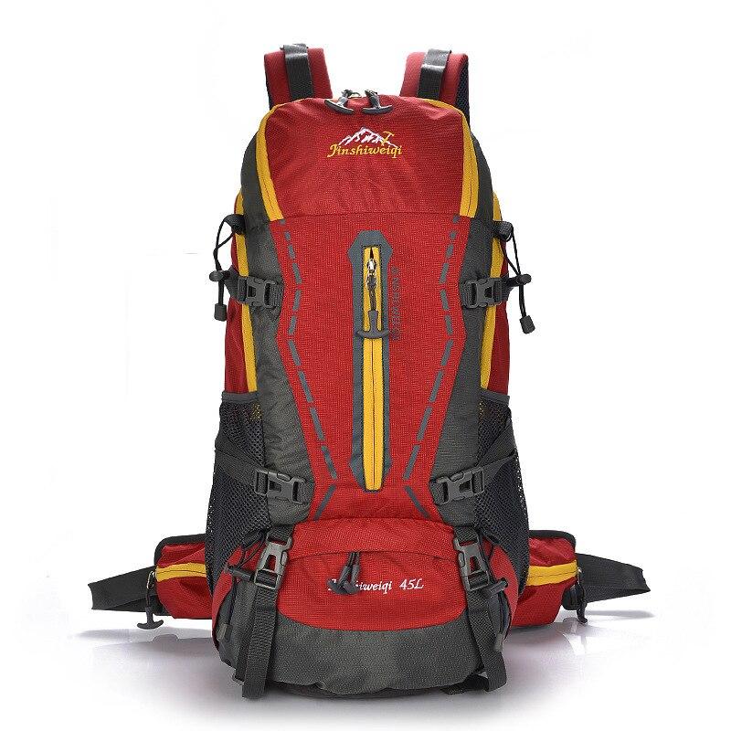 Nouveau modèle grand paquet Record Hill extérieur voyage et femmes usage général deux épaules sac à dos voyage imperméable