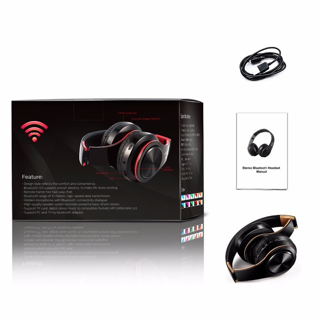 Wireless Stereo Headphones 5