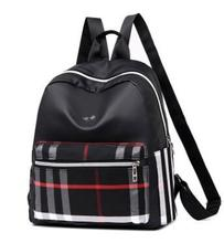 New Chequered Leisure Fashion Womens Shoulder Bags for Students in Europe, America, Japan and Korea 2019